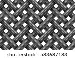 vector seamless decorative... | Shutterstock .eps vector #583687183