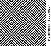 vector seamless pattern.... | Shutterstock .eps vector #583688137