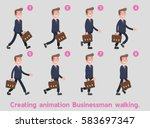 businessman walking on the...