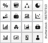 set of 16 editable analytics...