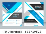 cover design abstract... | Shutterstock .eps vector #583719523