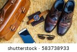 Men's Fashion With Brown Shoes...