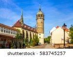 wittenberg  church | Shutterstock . vector #583745257