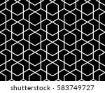 abstract geometric pattern with ... | Shutterstock .eps vector #583749727