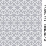 abstract geometric pattern with ... | Shutterstock .eps vector #583750933