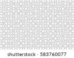 500 white puzzles pieces... | Shutterstock .eps vector #583760077