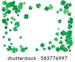 st. patrick's day background... | Shutterstock .eps vector #583776997