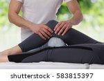 chiropractic  osteopathy ... | Shutterstock . vector #583815397