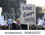 london  uk   february 20th 2017 ... | Shutterstock . vector #583825327