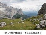 panoramic view of beautiful...   Shutterstock . vector #583826857