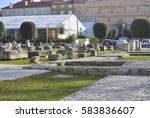 zadar  croatia   january 6 ... | Shutterstock . vector #583836607