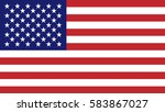 usa flag | Shutterstock .eps vector #583867027