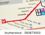 universiti station. kuala... | Shutterstock . vector #583873003