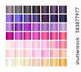 set of gradients. collection... | Shutterstock .eps vector #583877977