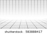 simple black and white abstract ... | Shutterstock .eps vector #583888417