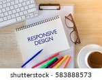 business concept   top view... | Shutterstock . vector #583888573