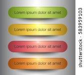 info graphic element design | Shutterstock .eps vector #583959103