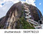 rock of guatape  piedra de... | Shutterstock . vector #583978213