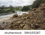 Winter Storm Landslide Blockin...