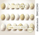 Easter Sale Vector Banners....