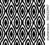 black and white monochrome... | Shutterstock .eps vector #584222947