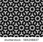 islamic geometric print....   Shutterstock .eps vector #584248837