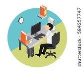 operator | Shutterstock .eps vector #584257747