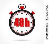 illustration of forty eight... | Shutterstock .eps vector #584296933
