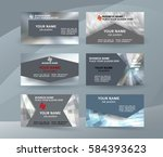 abstract professional and... | Shutterstock .eps vector #584393623