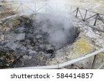 furnas fumaroles | Shutterstock . vector #584414857