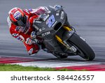 Small photo of SEPANG, MALAYSIA - JANUARY 30, 2017 : Ducati Team test rider, Casey Stoner during 2017 MotoGP pre-season test at the Sepang International Circuit.
