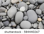 Pile Of Gray Pebbles Texture