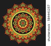 Mandala. Coloring Book Pages....