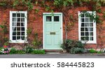 view of a beautiful house... | Shutterstock . vector #584445823