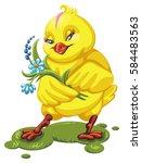 vector illustration of a... | Shutterstock .eps vector #584483563