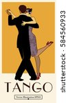1920s tango poster. elegant...