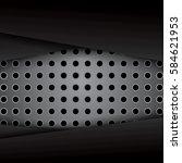 abstract metallic background . | Shutterstock . vector #584621953