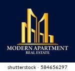 real estate  building ...   Shutterstock .eps vector #584656297