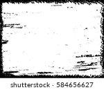 grunge frame. vector... | Shutterstock .eps vector #584656627