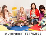 Group Of Mothers With Their...