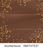 vector brown background with... | Shutterstock .eps vector #584747527