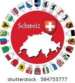 Schweiz   Emblems   German...