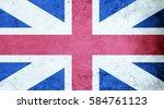 British Flag Cement Texture