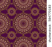 vector golden texture  gold... | Shutterstock .eps vector #584770183