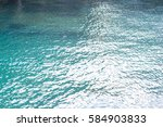 reflection of sunlight on the...   Shutterstock . vector #584903833