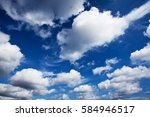 View Of Blue Clouds In The Sky