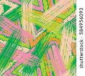 abstract grunge seamless... | Shutterstock .eps vector #584956093
