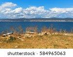 Black Sea Coast. Coastline Wit...