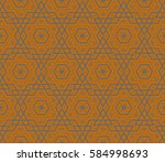 modern geometric seamless...   Shutterstock . vector #584998693