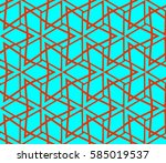 abstract repeat backdrop.... | Shutterstock . vector #585019537